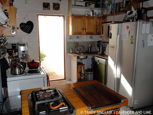 Cottage Kitchen About Tandy / Contact