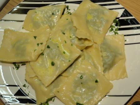 Recipe For Spinach And Ricotta Ravioli - Lavender and Lime