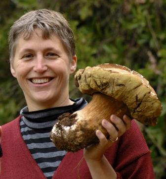 nora with boletus mushrooms found at delheim Gnocchi With Exotic Mushrooms