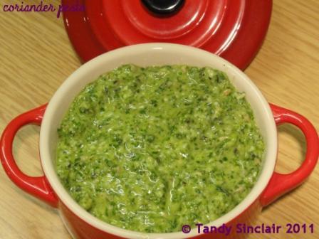 Coriander Pesto Recipe For Coriander Pesto