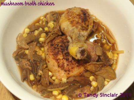 """""""Chicken In A Mushroom Broth"""""""