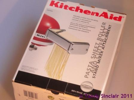 """Kitchen Aid Pasta Attachment"""