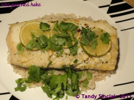 Lime Poached Hake Recipe For Lime Poached Hake