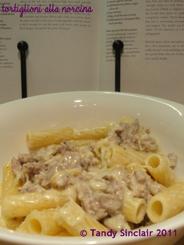 Pasta With Sausages And Cream Recipe For Pasta With Sausages And Cream