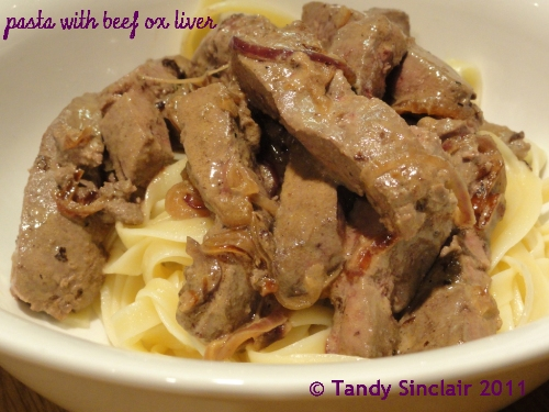 Pasta with beef ox liver recipe lavender and lime forumfinder Images