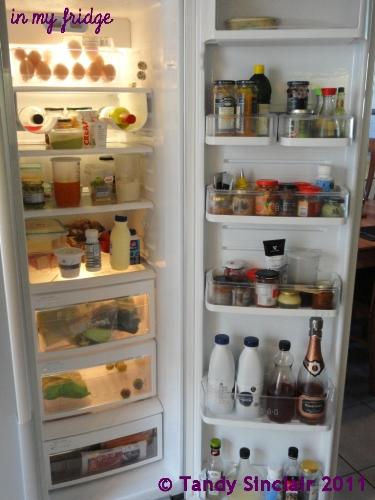 """""""in my fridge"""""""