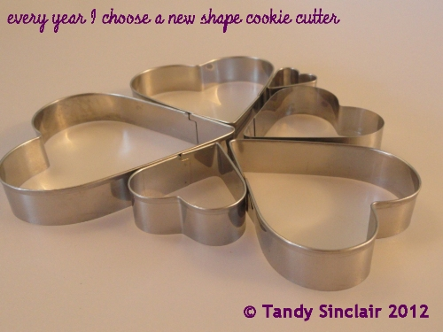 heart shape cookie cutters In My Kitchen February 2012