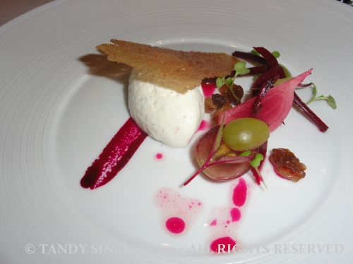 """""""goats cheese mousse"""""""