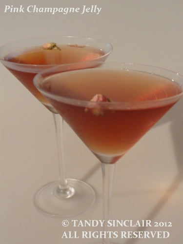 Recipe For Pink Champagne Jelly - Lavender and Lime