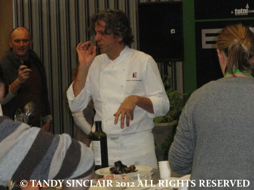 © buonissimo Review: Good Food and Wine Show: Hands On Workshop with Giorgio Locatelli