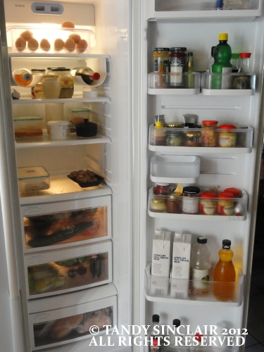 """in my fridge"""