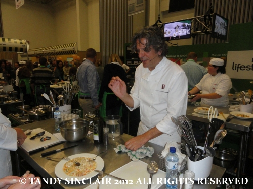 © my food being tasted Review: Good Food and Wine Show: Hands On Workshop with Giorgio Locatelli
