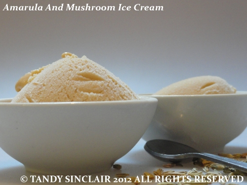 Amarula And Mushroom Ice Cream Recipe For Amarula And Mushroom Ice Cream