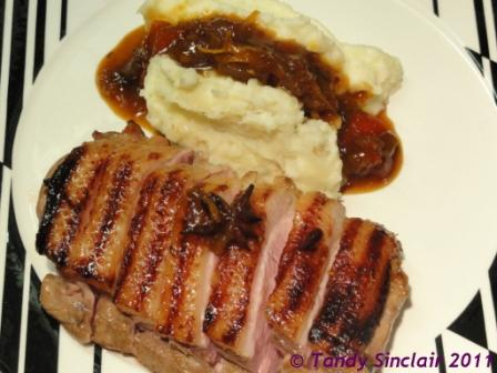 Orange Marinated Duck Breasts Orange Marinated Duck Breasts Recipe