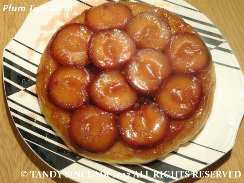 Plum Tart Tatin Recipe For Plum Tart Tatin