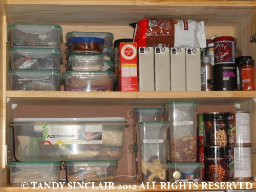 © a view of my pantry In My Kitchen   August 2012