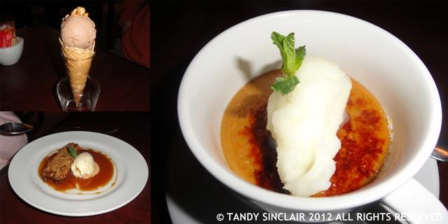 © desserts at Arugula Arugula, Welgemoed