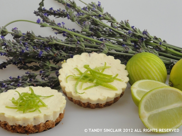 Lavender And Lime Cheesecake I Will Be Back