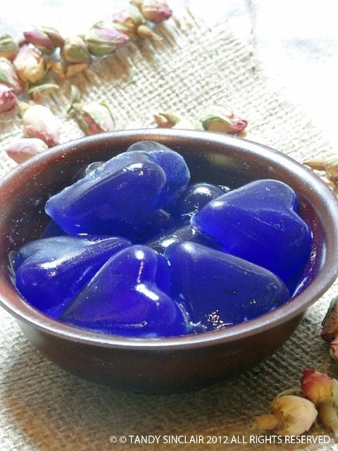 """Turkish Delight Jelly Hearts"""