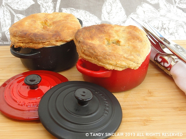 Chicken Pot Pie With Roasted Root Vegetables