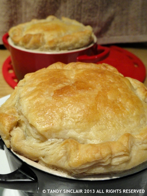 Recipe For Lobster Pot Pie - Lavender and Lime