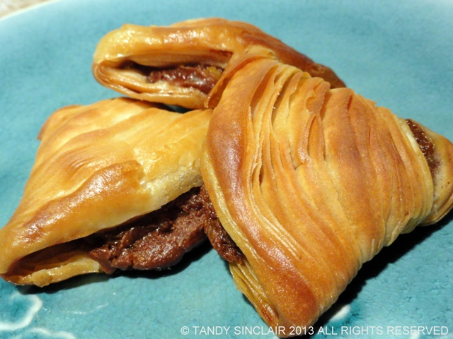 Chocolate And Orange Sfogliatelle Chocolate Confectioners Custard Recipe