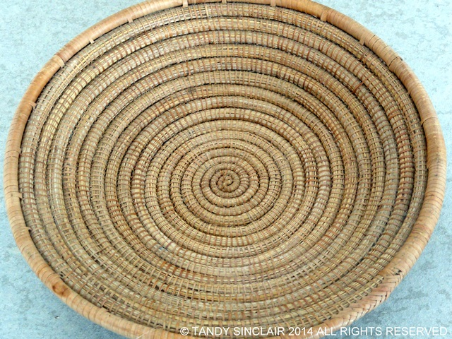 Woven Basket In My Kitchen June 2014