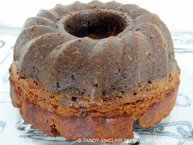 """Lavender Surprise Bundt Cake"""
