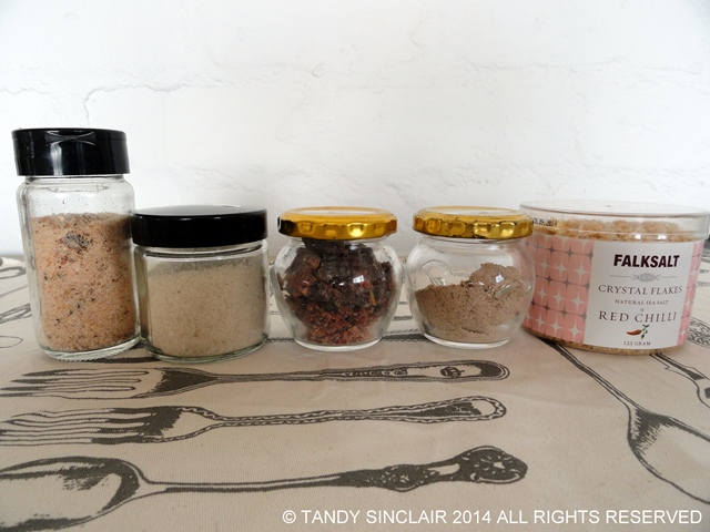 Salts Stocking A Spice Drawer