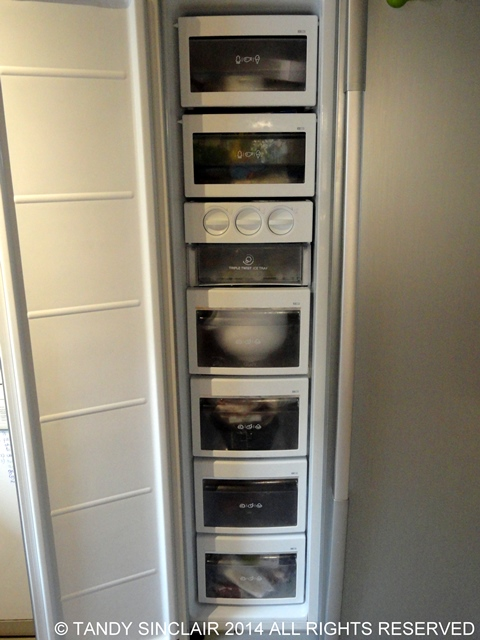 In my new freezer Buying And Stocking A Fridge