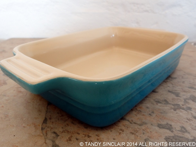 Le Creuset Rectangular Dish In My Kitchen September 2014