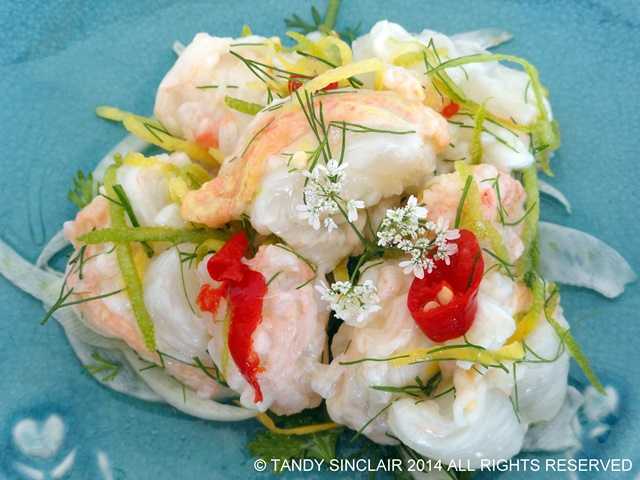 West Coast Rock Lobster Ceviche Recipe For Lobster Ceviche