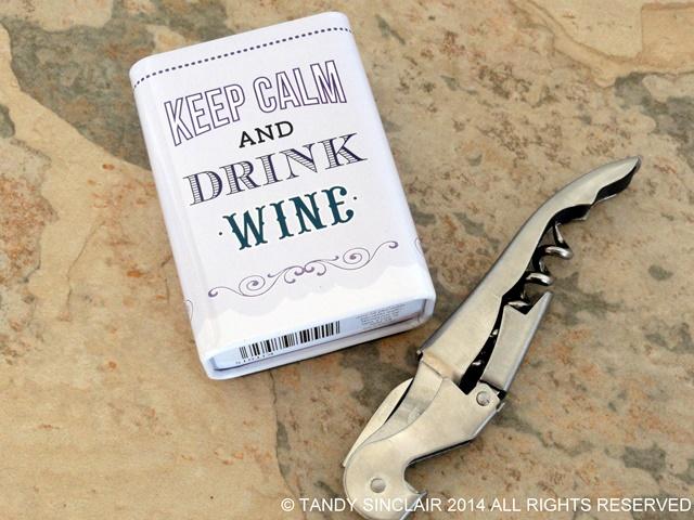 Wine Opener and Fridge Magnet In My Kitchen September 2014
