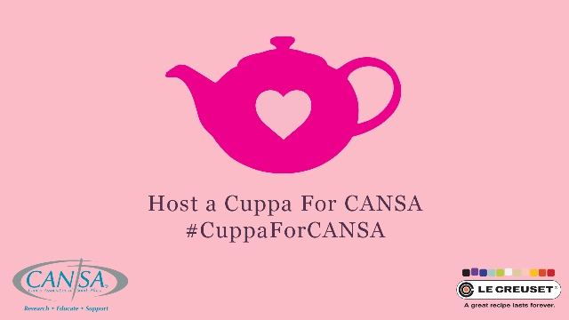 cuppaforcansa Host A Cuppa For CANSA 2014