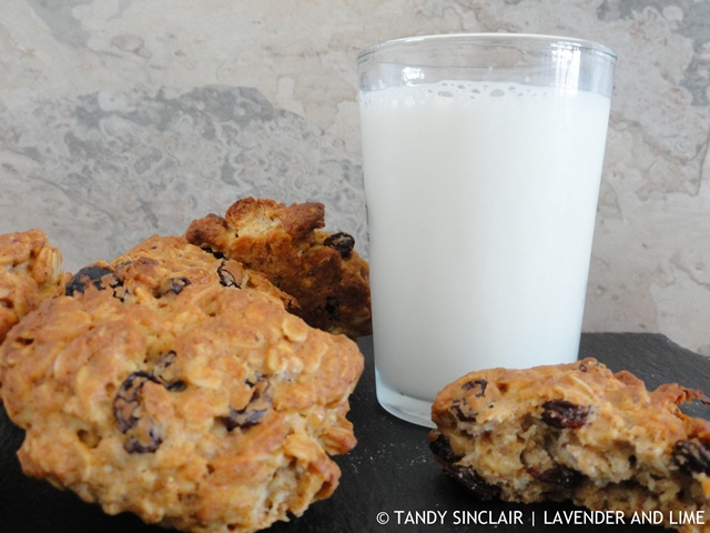 oat and raisin cookies The Family Cook Book, Kerryann Dunlop
