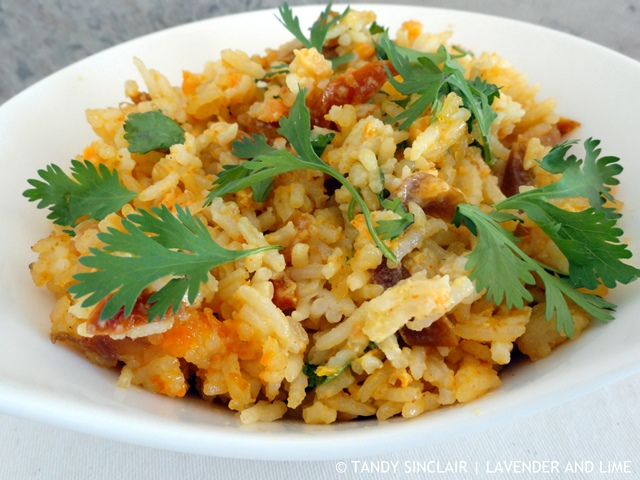 Recipe For Basmati Rice Salad - Lavender and Lime
