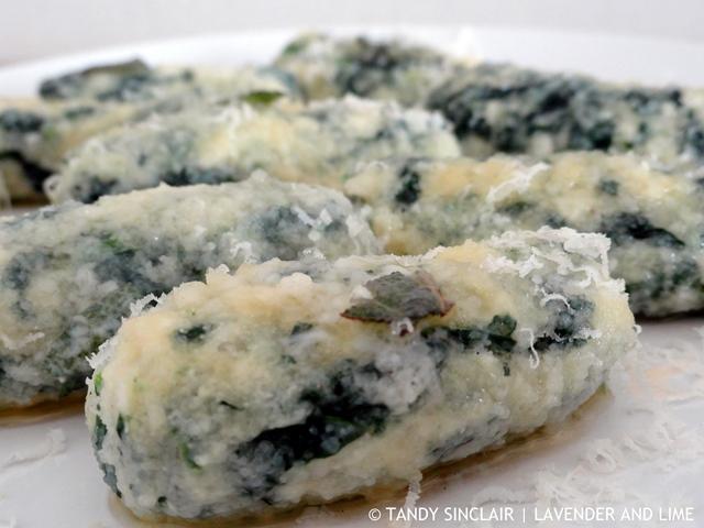 """Spinach And Ricotta Gnocchi"""