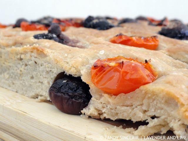 """""""Olive And Tomato Sourdough Focaccia"""""""