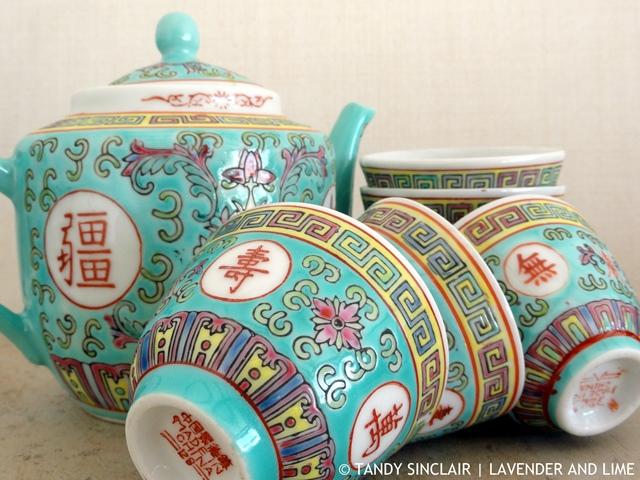 """Chinese Tea Set"""