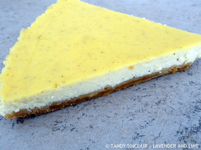 """""""Lime And Ricotta Cheesecake"""""""
