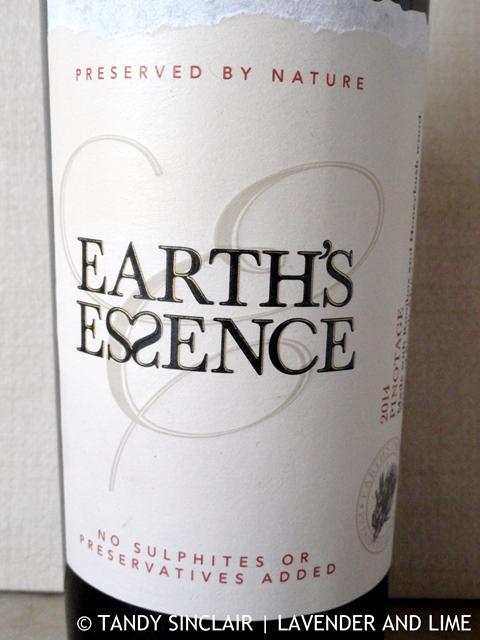 """Earth Essence Pinotage"""