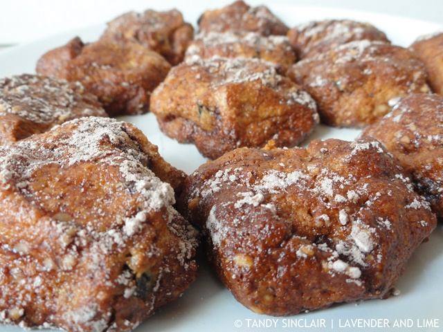 """Cocoa Dusted Amaretti Biscuits"""