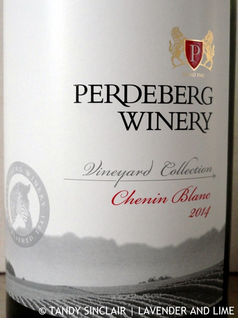 """Perdeberg Winery Vineyard Collection Chenin Blanc 2014"""