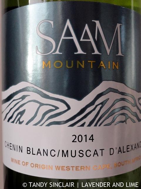 """Saam Chenin Blanc Muscat D'Alexander 2014"""