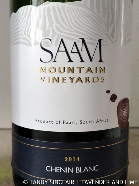 """Saam Mountain Vineyards Chenin Blanc 2014"""