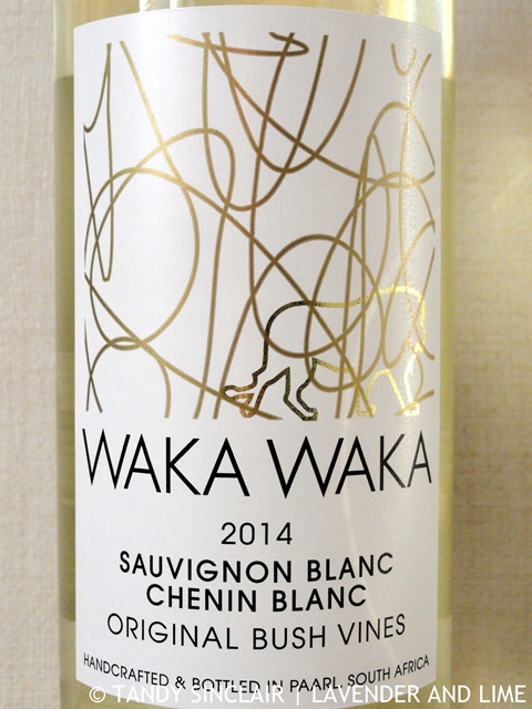 """Waka Waka Sauvignon Blanc Chenin Blanc (50/50) Blend 2014"""