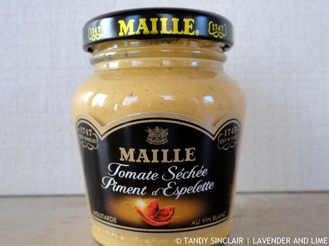 """""""Sun-dried tomato, Espelette pepper and white wine mustard"""""""