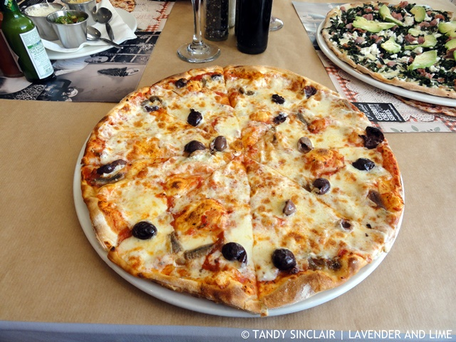 Siciliana Pizza at Col'Cacchio Pizzeria