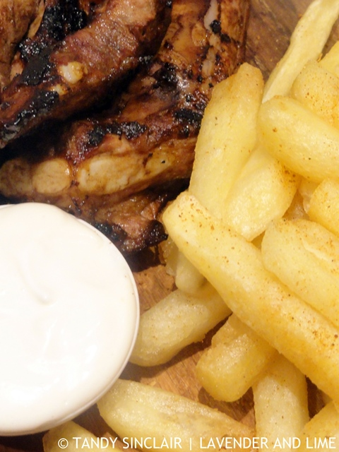 Oven Fried Chips With Barbecue Salt