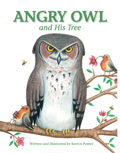 Angry Owl And His Tree